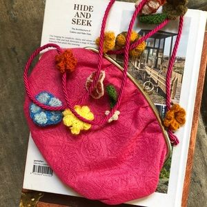 Dauphinette LEROY Hand-crocheted Purse
